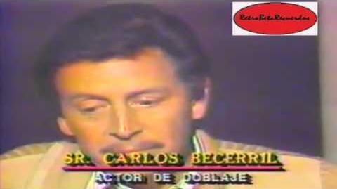 Carlos Becerril, capsula de doblaje