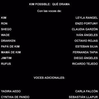 Créditos del DVD (Incompleto)