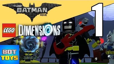 LEGO DIMENSIONS LEGO BATMAN MOVIE 1 EN ESPAÑOL - JUEGO LIBRE EN DIRECTO