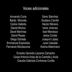 Voces adicionales cap 10, parte 1.