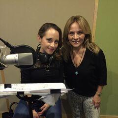 Cecilia Gómez (Spike) y Maggie Vera (Fluttershy). (25/05/16)