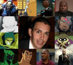 Nayip y algunos de sus personajes