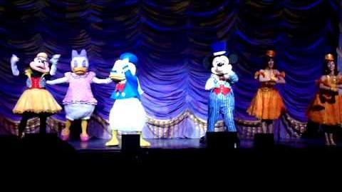 4 La magia de Mickey Mouse Truco el cañon