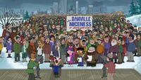 Danville is very nice
