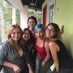 Maggie Vera, Elsa Covian, Analiz Sánchez, Carla Castañeda y Meli G. (21/06/16)