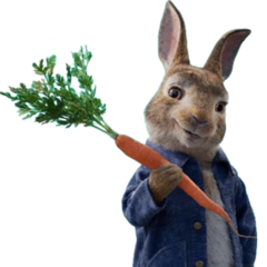 Peter Rabbit en <a href=