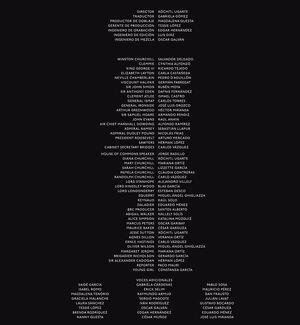 Creditos de doblaje al castellano neutro de Las horas más oscuras (DVD)