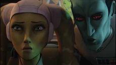 Hera es interrogada por el Gran Almirante Thrawn - Star Wars Rebels - Español Latino