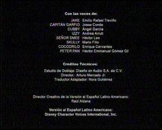 Créditos de doblaje de Las aventuras bucaneras de Jake (TV) (DJR)