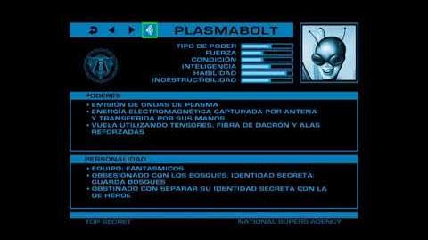 ARCHIVOS SECRETOS DE LA ANS Plasmabolt