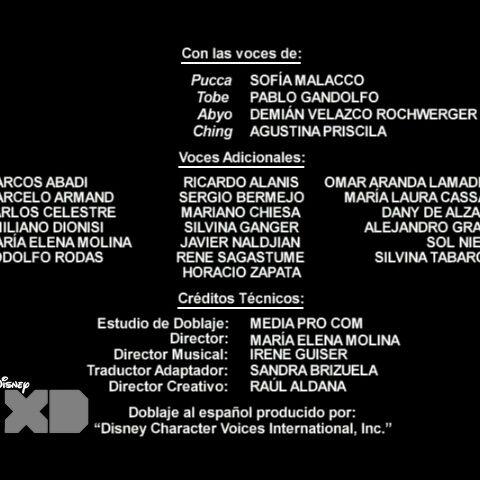 Créditos de doblaje de la segunda temporada