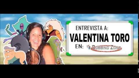 Entrevista a Valentina Toro en Dubbing Zone