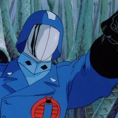 Comandante Cobra en la película de <a href=