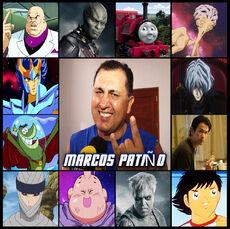 Marcos Patiño-Doblaje