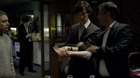 """Operativo antidrogas de Lestrade"" Sherlock - Primera temporada (Español Latino)"