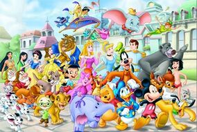 Disney-characters