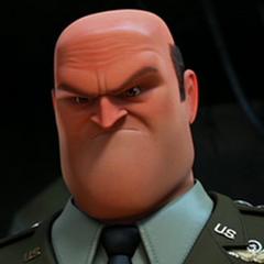 General Shanker en la versión de The Weinstein Company de <a href=