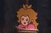 Peach en el comercial de Paper Mario