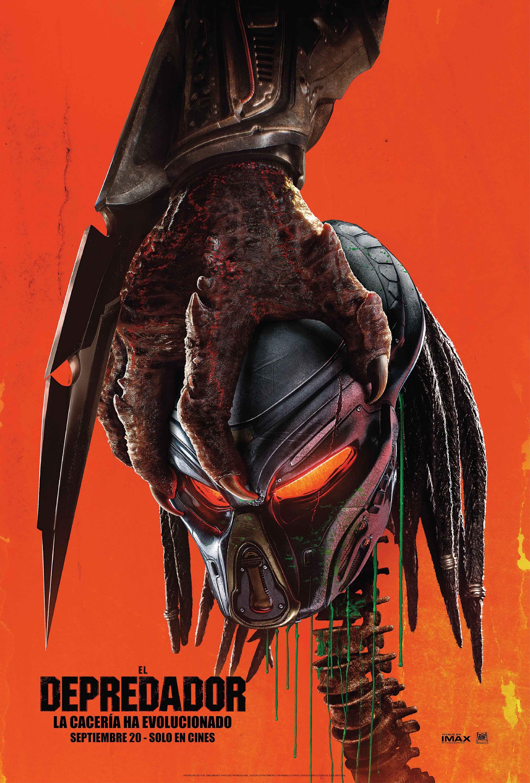 El Depredador (2018) DVDRip Audio Latino