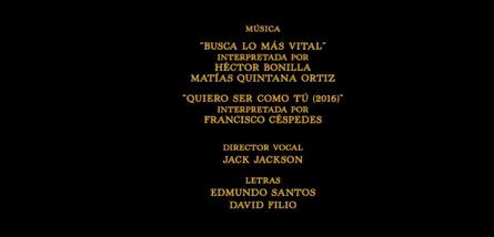 El libro de la selva (2016) Doblaje Latino Creditos 3