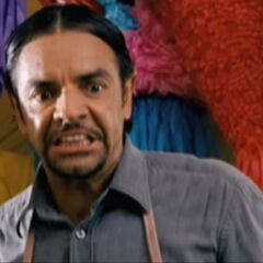 Interpretó y dobló a Vendedor de la tienda <i>Abarrotes Mayito</i> en <a href=