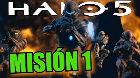 """Halo 5 Guardianes - Misión 1 """"Osiris"""""""