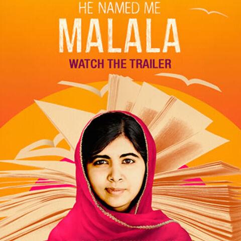 La madre de Malala en el documental Él la nombró Malala.