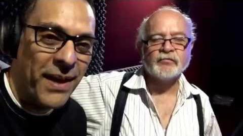30 años después un Theatrical con mi admirado Eduardo Tejedo! -elmejordoblajeesmexicano