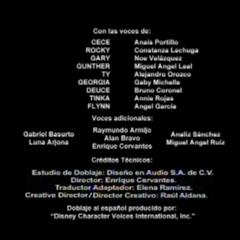 Créditos del Doblaje del Capitulo 1