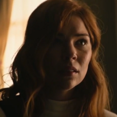 Catherine en la película de terror <a href=