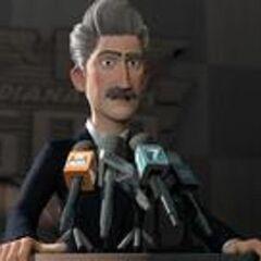 Presidente de IndyCar en <a href=