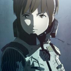 Yuko Tani en la trilogía del anime<a href=