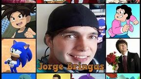 Jorge Bringas personajes con su voz