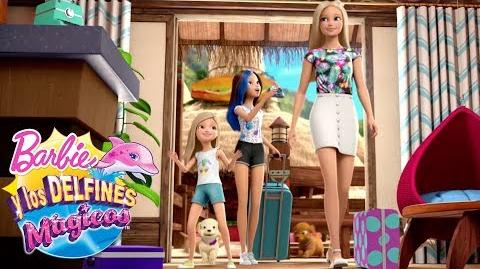 Las mejores vacaciones tropicales Barbie y los Delfines Mágicos Barbie