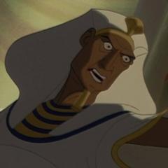 Faraón Seti en <a href=