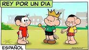 Rey por un dia Mónica y sus amigos
