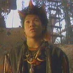 Rufio en la versión de VHS y TV para Argentina de <a href=