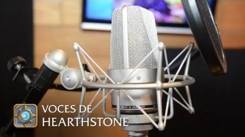 Voces de Hearthstone™ Heroes of Warcraft™