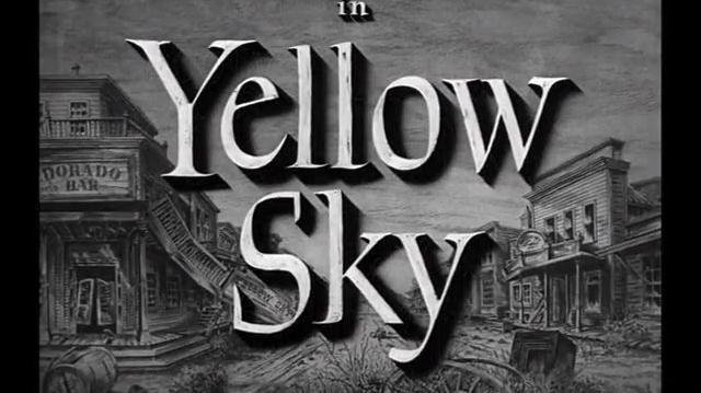 Yellow Sky (1948) A través del desierto (Español Latino)