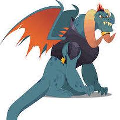 Señor Dragón Torch en <a href=