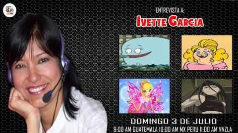 Entrevista a Yvette Garcia en Dubbing Zone