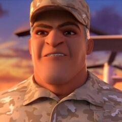 General Dudley en <a href=