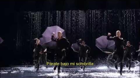 Glee - Singin' In The Rain Umbrella feat