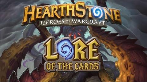 Hearthstone Historia de las Cartas N'Zoth