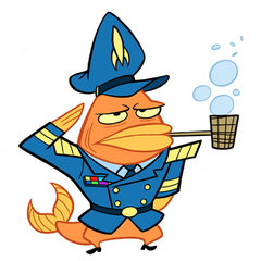 Almirante DeGill en <a href=