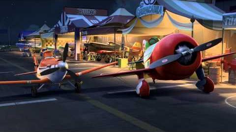 """Aviones Dusty conoce a """"El Chu"""""""