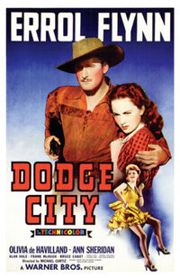 Dodge City 1939 Poster 2