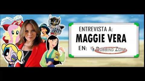 Entrevista a Maggie Vera en Dubbing Zone