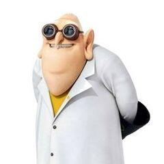 Dr. Nefario en la franquicia de <a href=
