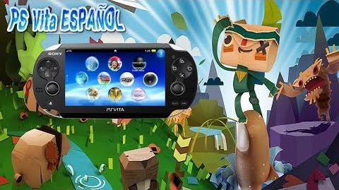 Gameplay Tearaway Ps Vita Ps Vita ESPAÑOL